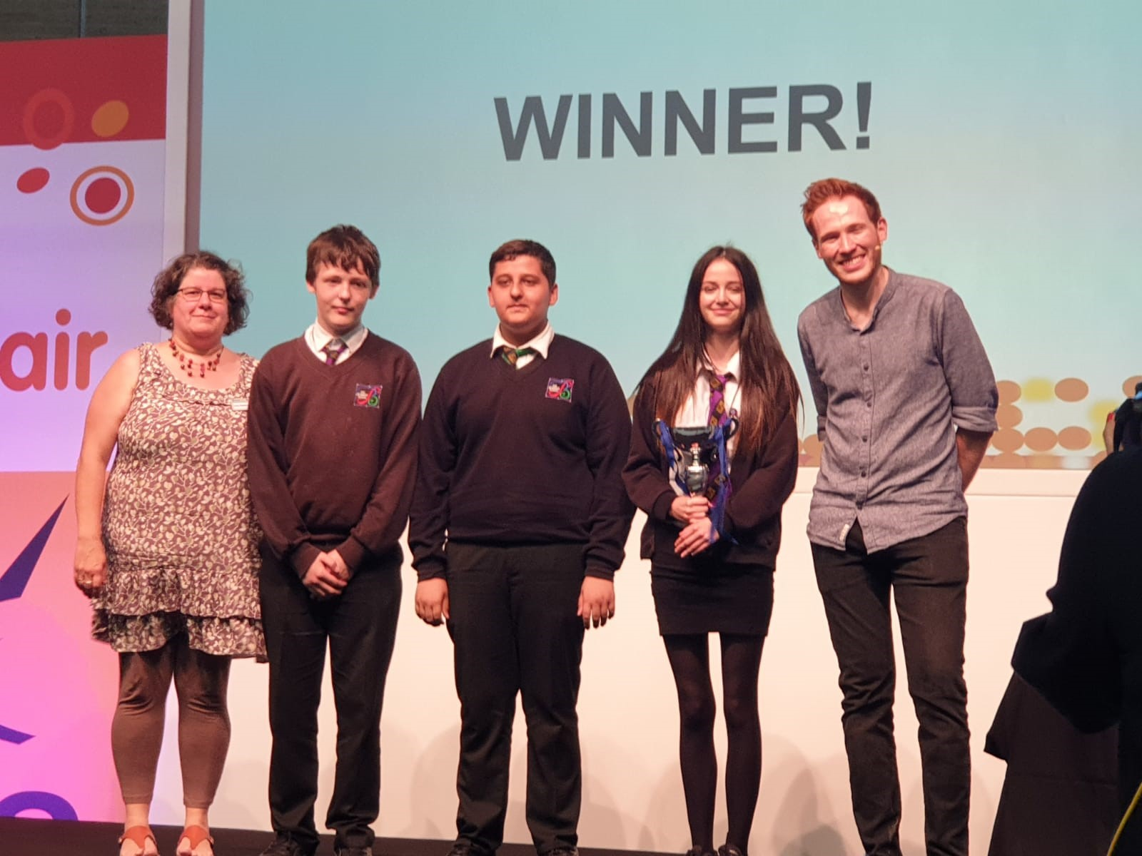 The Bemrose School celebrate their recent award win. Penguin PR: public relations, media and communications