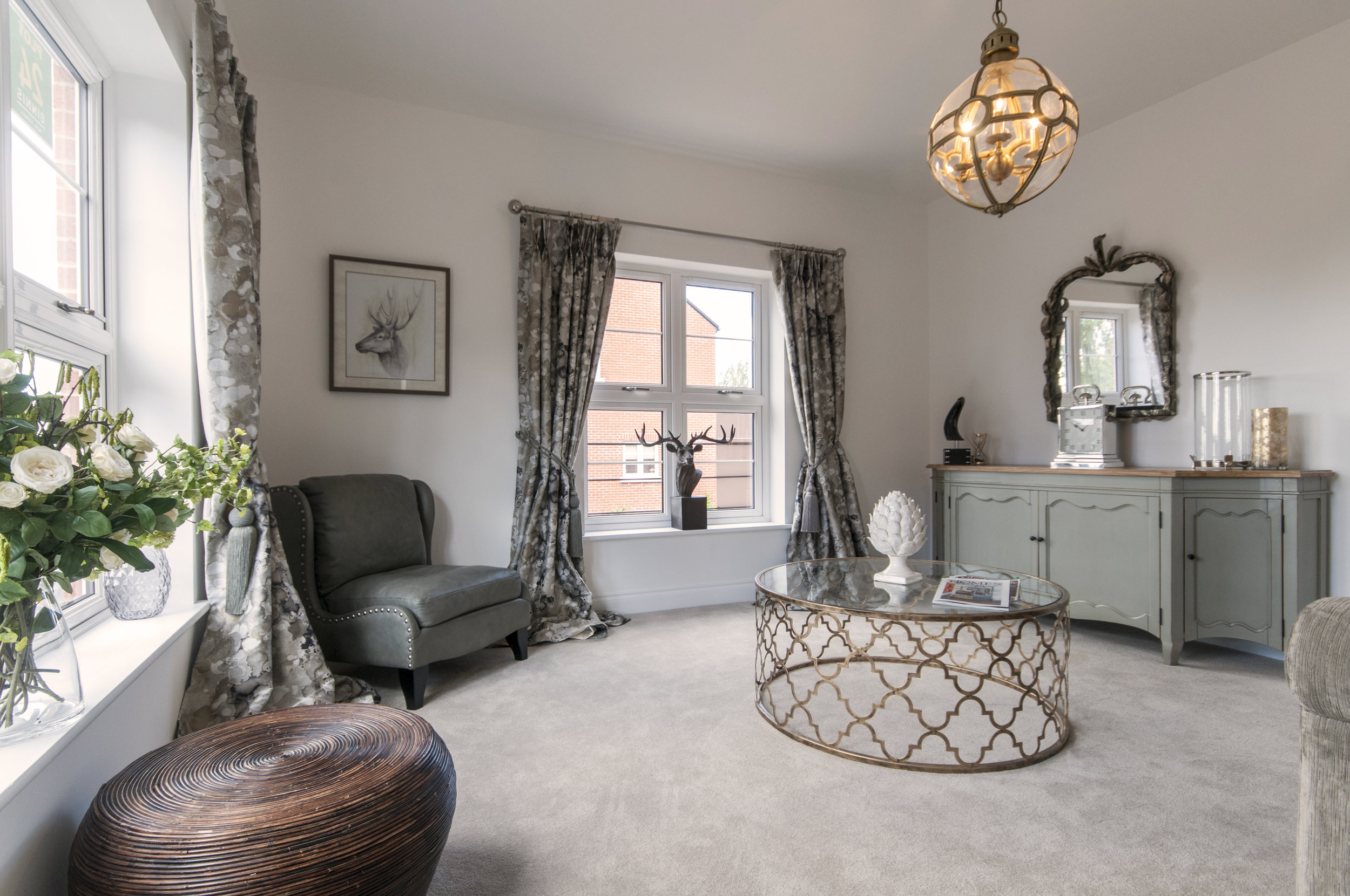 Plot 24 - the four bedroom home at Deer Park in Ripley - has an upgraded kitchen with integrated Bosch appliances. Penguin PR: public relations, media and communications