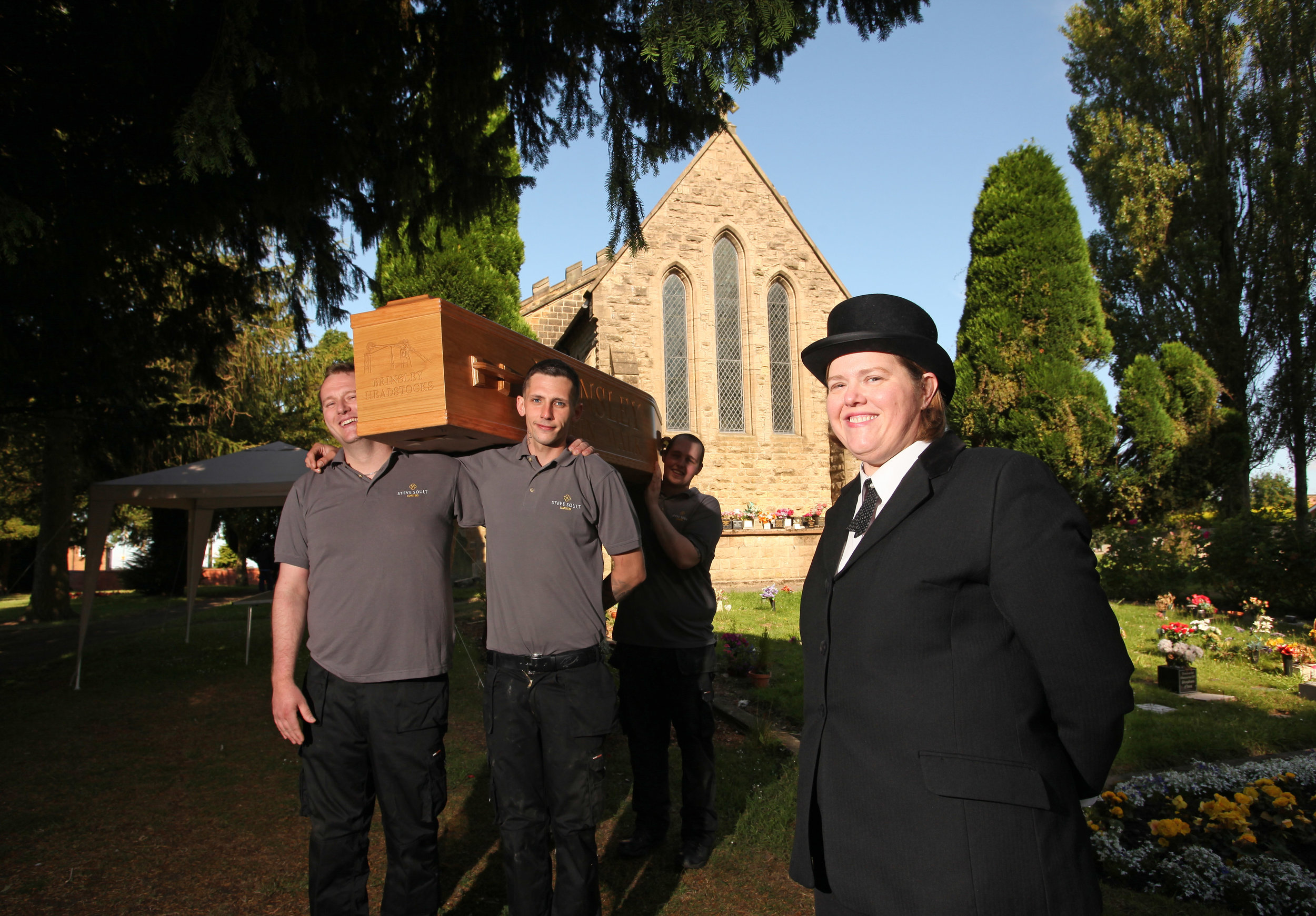 The annual Coffin Walk will take place in Brinsley, Nottinghamshire in July. Penguin PR: public relations, media and communications