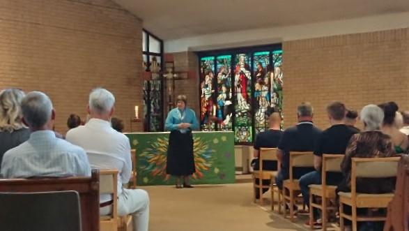 The Reverend Lisa Shemilt, associate vicar at St Lawrence Church, Heanor. Penguin PR: public relations, media and communications