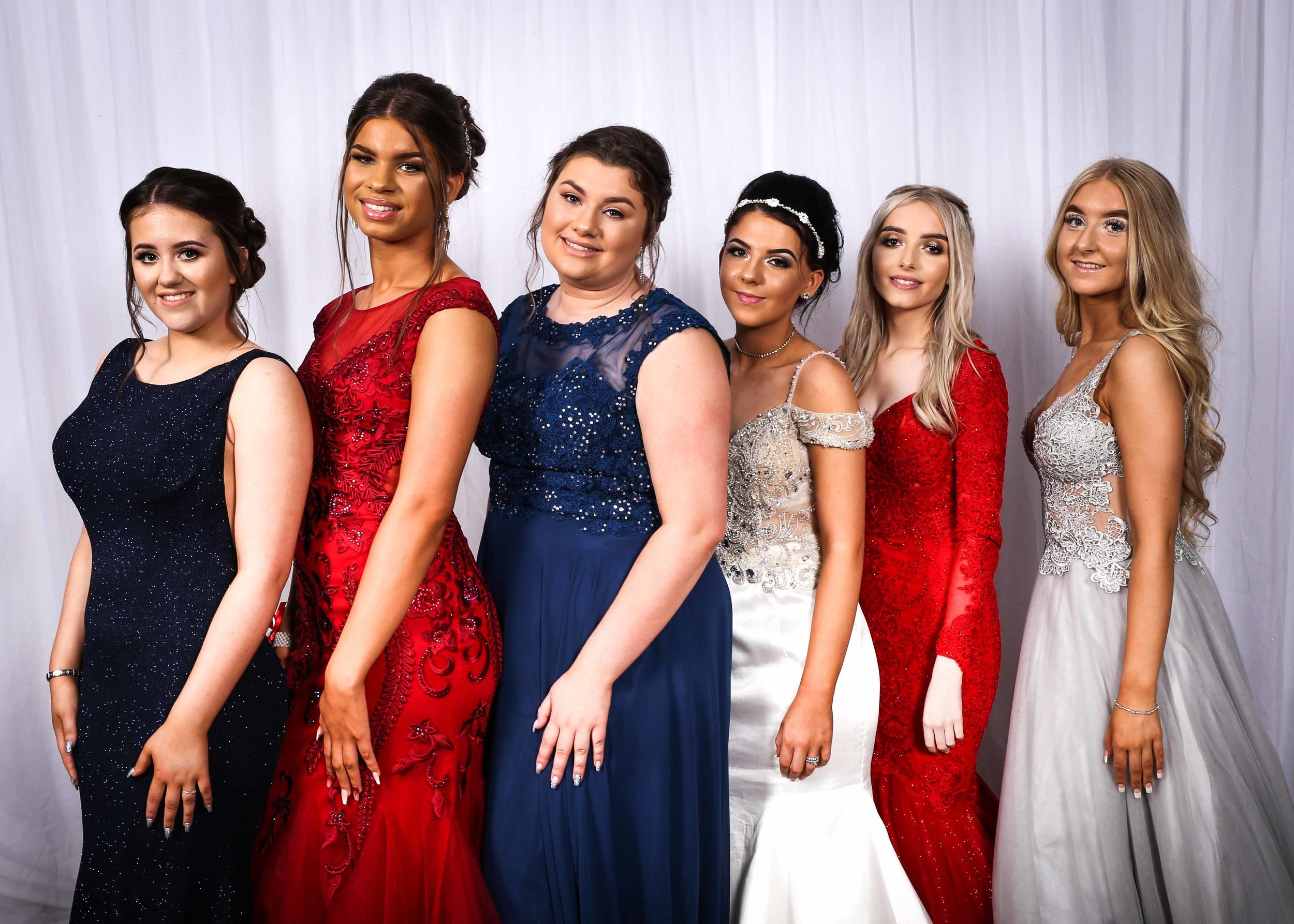 Jess Jones, Leah Caunt, Sadie Thompson, Summer Burnham, Jade Rich, Molly Sigsworth.