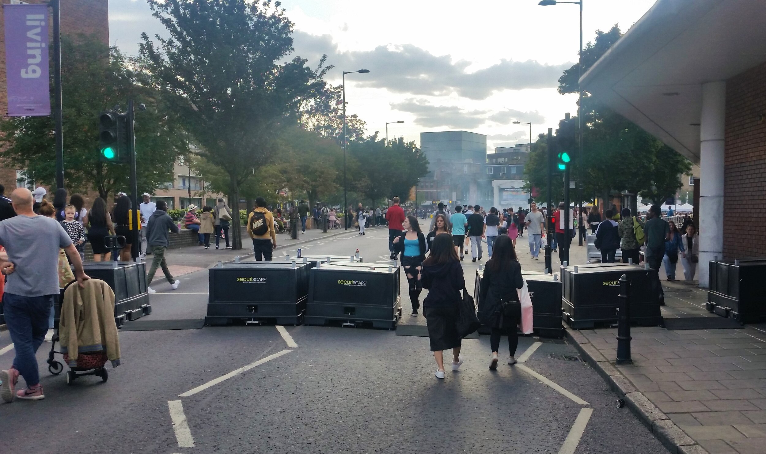 The organisers of Hackney Carnival took delivery of 11 of our SecuriPod HVM barriers in order to close off a key road from traffic, allowing the 100,000 people who attended the event to walk to the centre of the celebrations in peace.