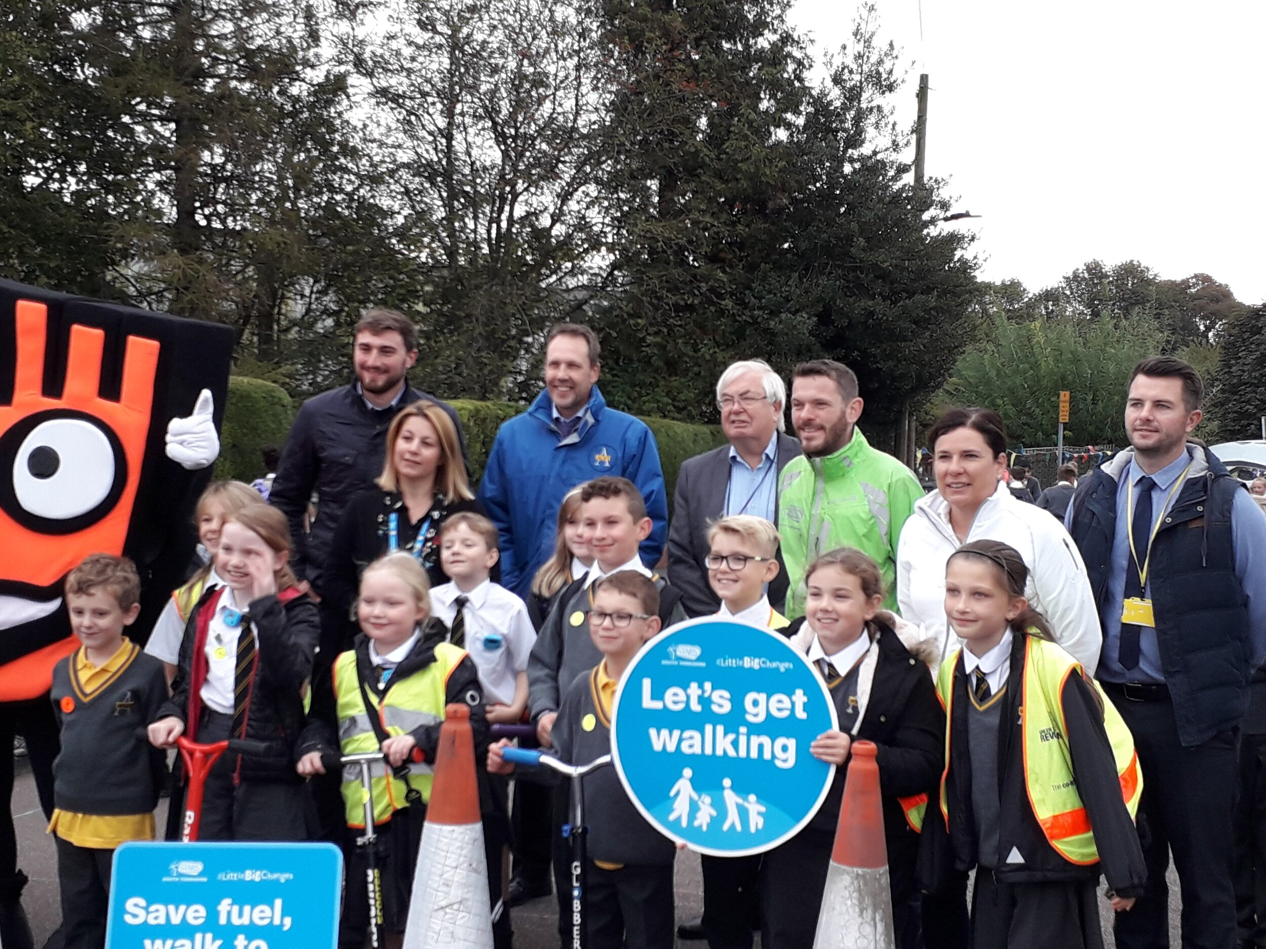 Listerdale Junior Academy are the first school in Rotherham to close the road in suppport of a nationwide campaign.