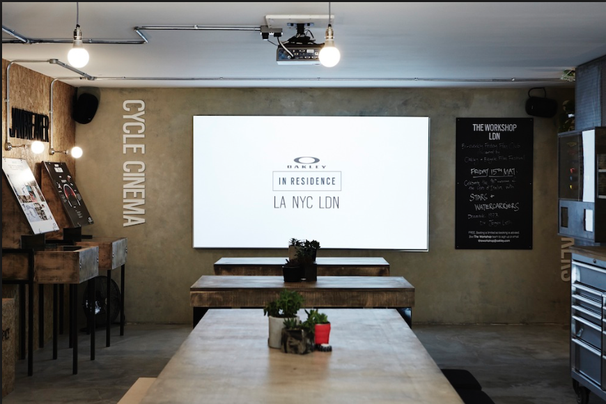 Mobile.In-Store.Apps - I created content for a Oakley surf app that was developed, Mobile Rolling Lab, an amazing activation, traveling across the U.S. to events and featured a screen room. All content was distributed to Oakley global stores.