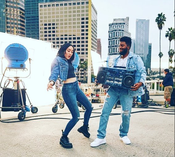 """check out the Denim Touch - this took some serious producing skills to do a catalog and commercial shoot in 6 hours, """"we're losing light people"""""""