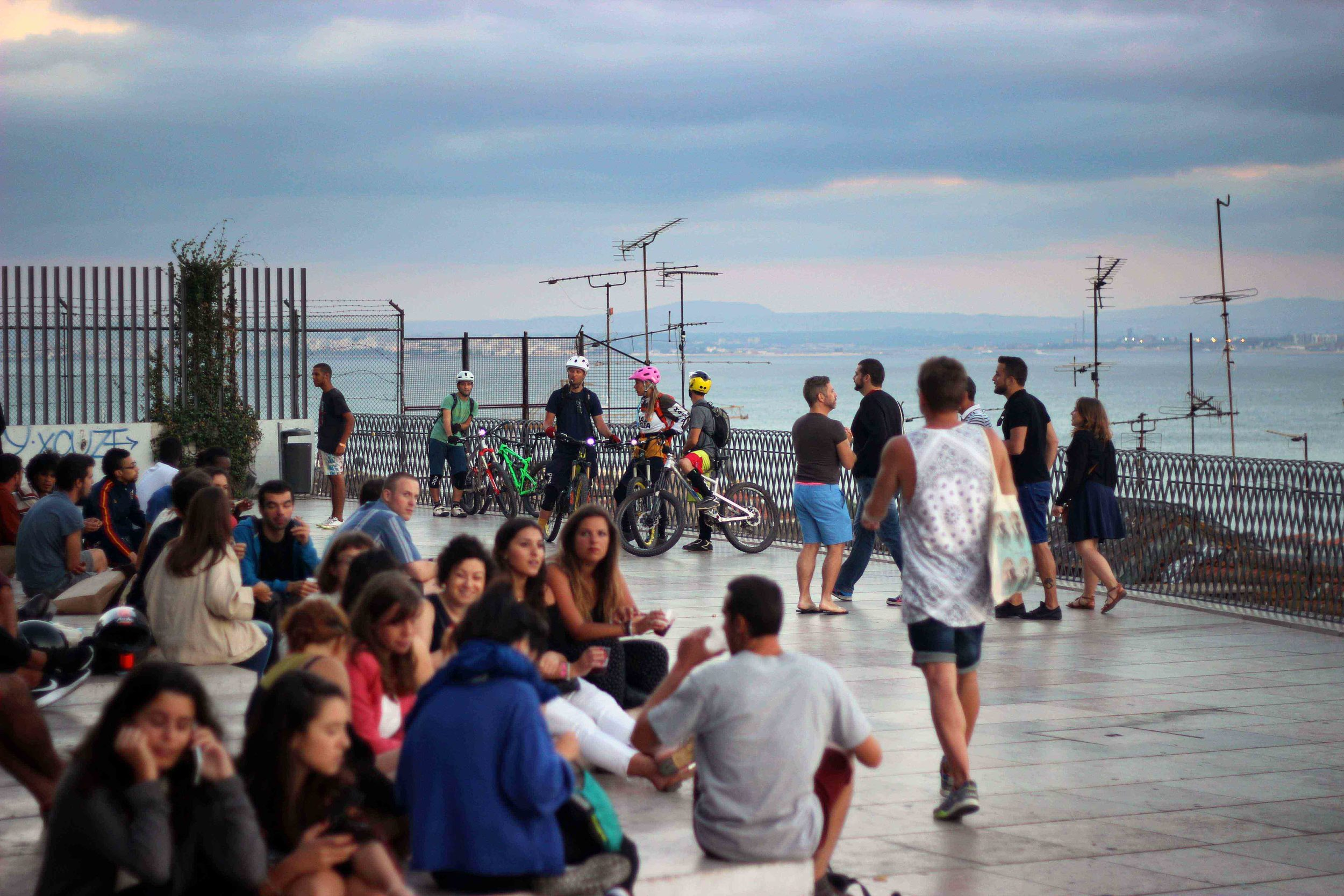 night life, popular in Lisbon