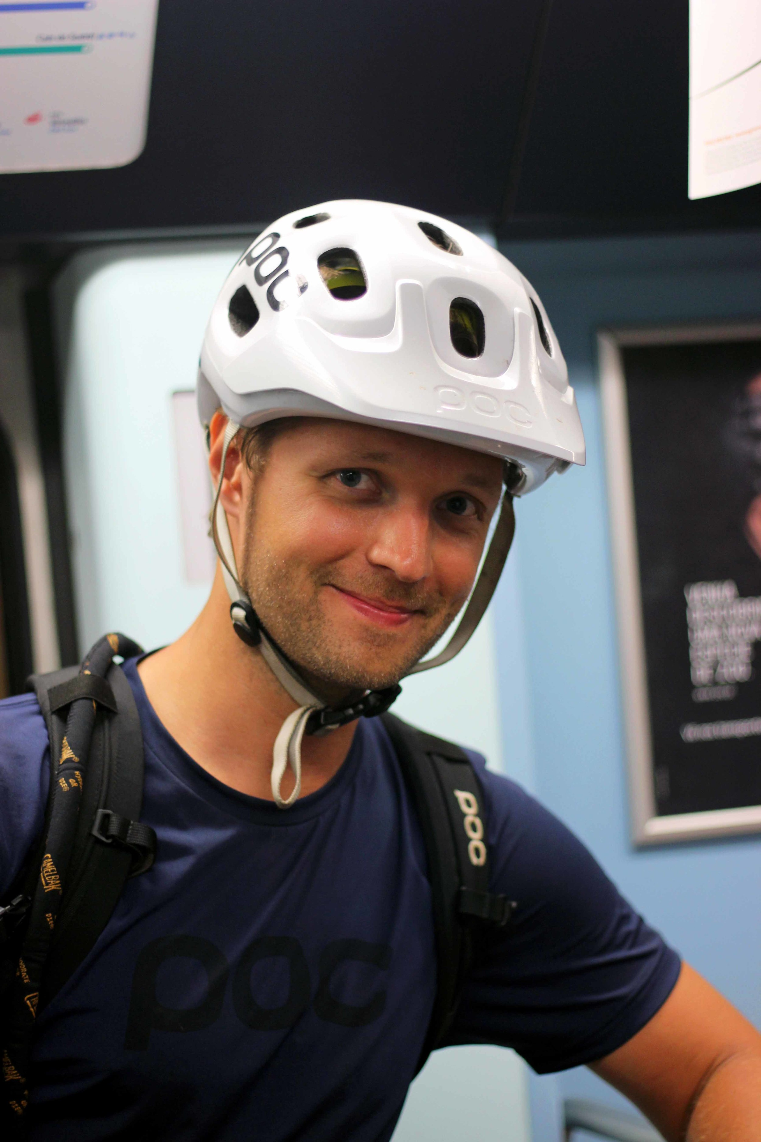 Michael, really happy with the Lisbon Night Ride