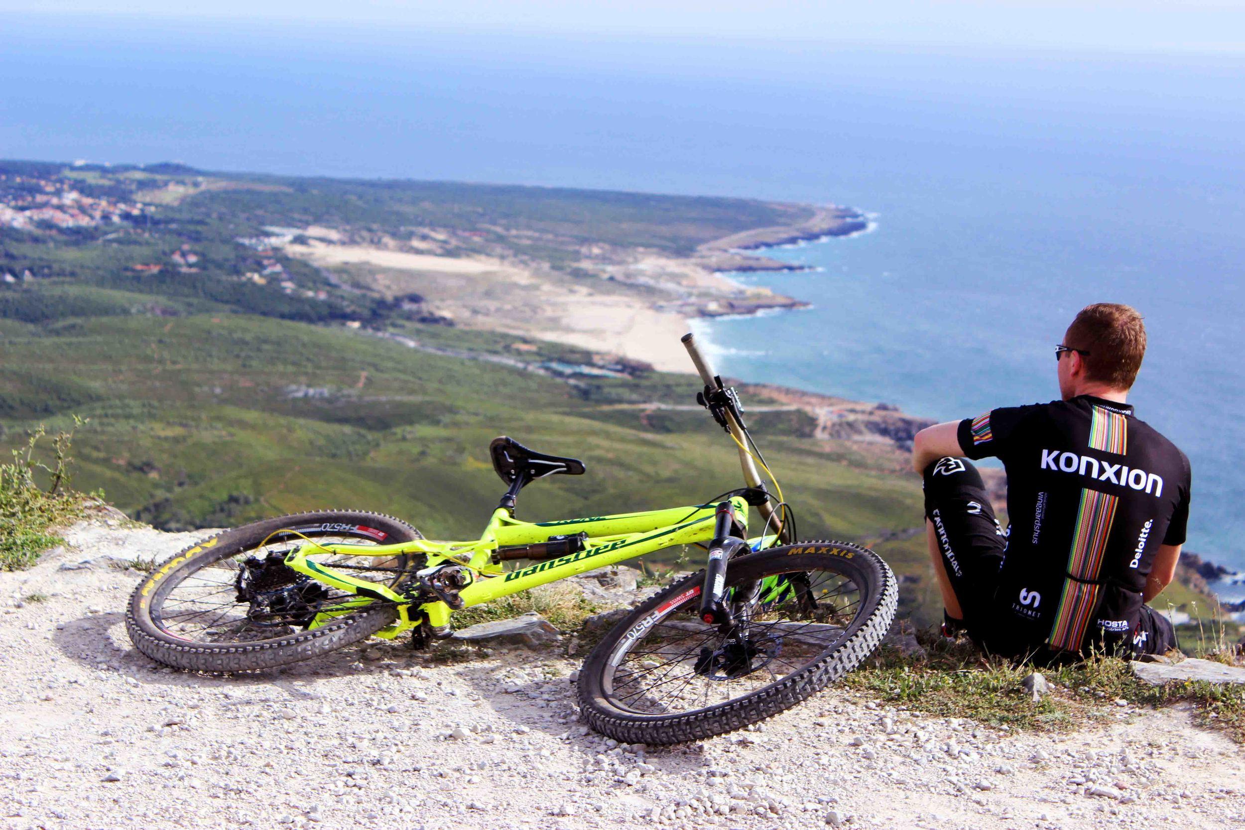 overlooking Guincho beach and Cascais