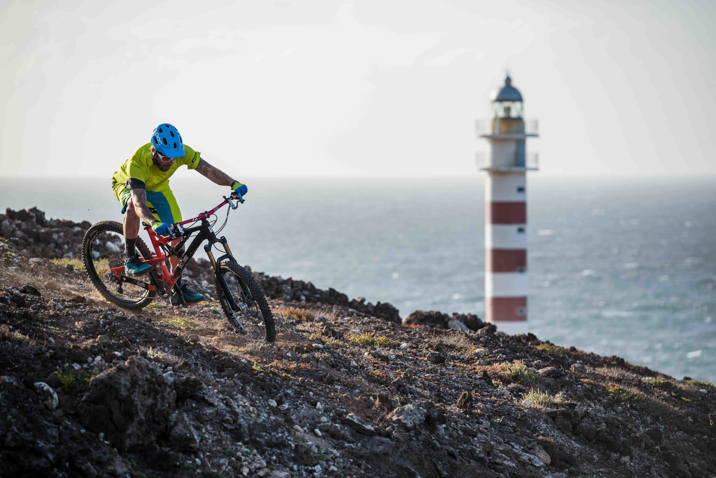 Sonne, Meer und Mountainbikes  © ISMAEL IBAÑEZ