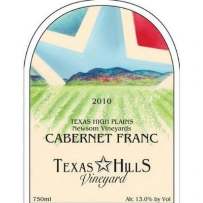 The grapes in this wine made by Texas Hills Vineyard were all grown in the Texas High Plains, and more specifically, at Newsom Vineyards.