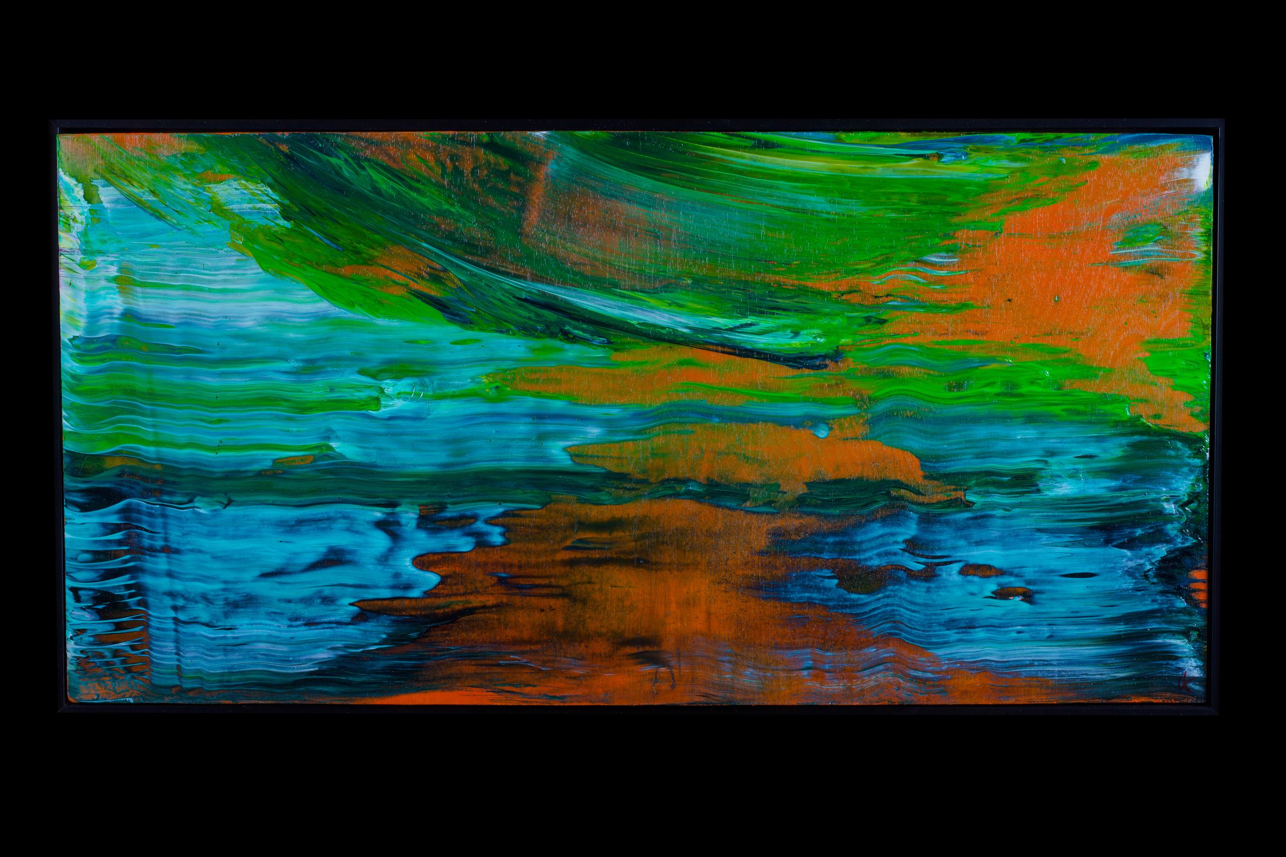 "Summer Water II - 12"" x 24"" - $300"