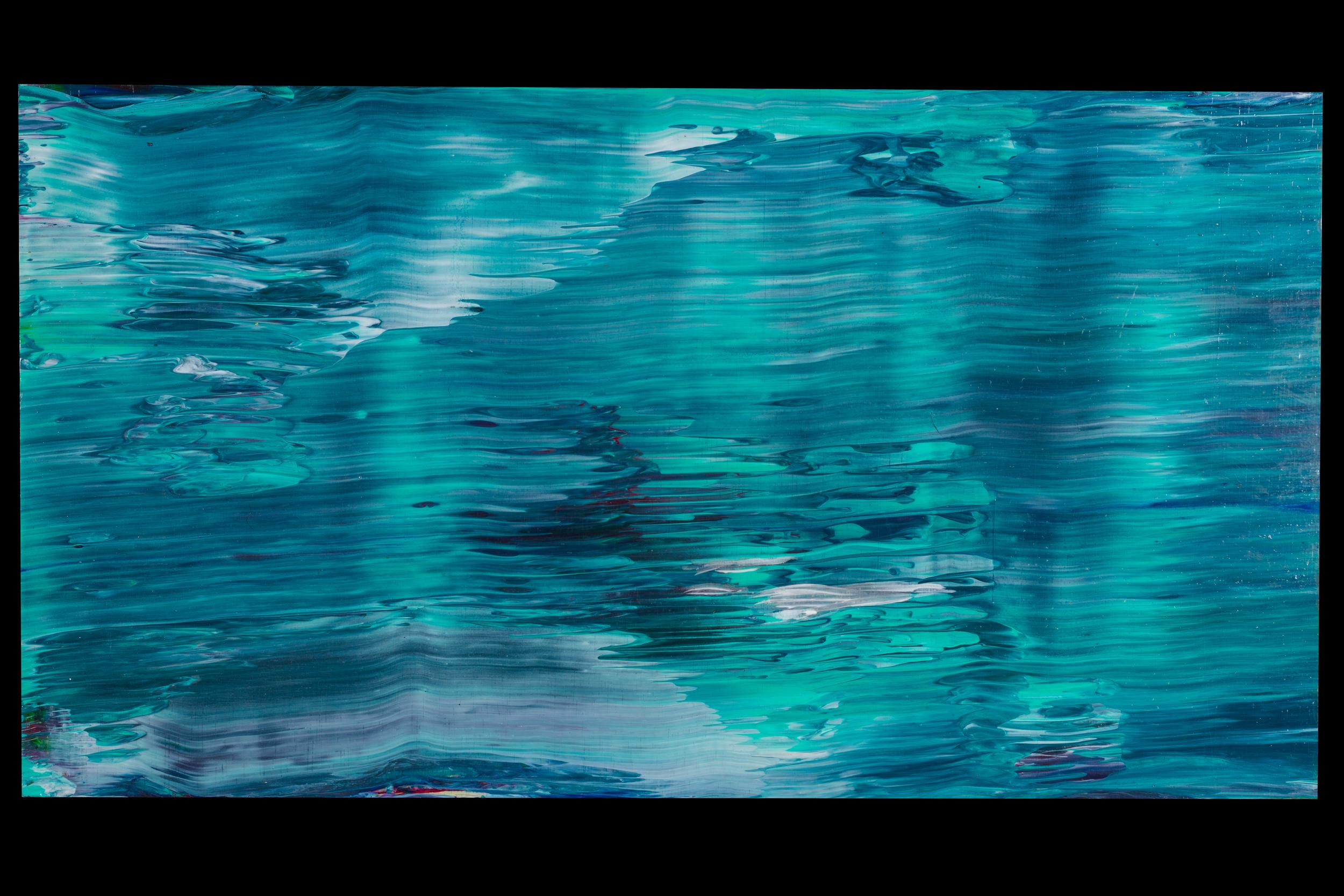 "Moon Water - 12"" x 20"" - $300"