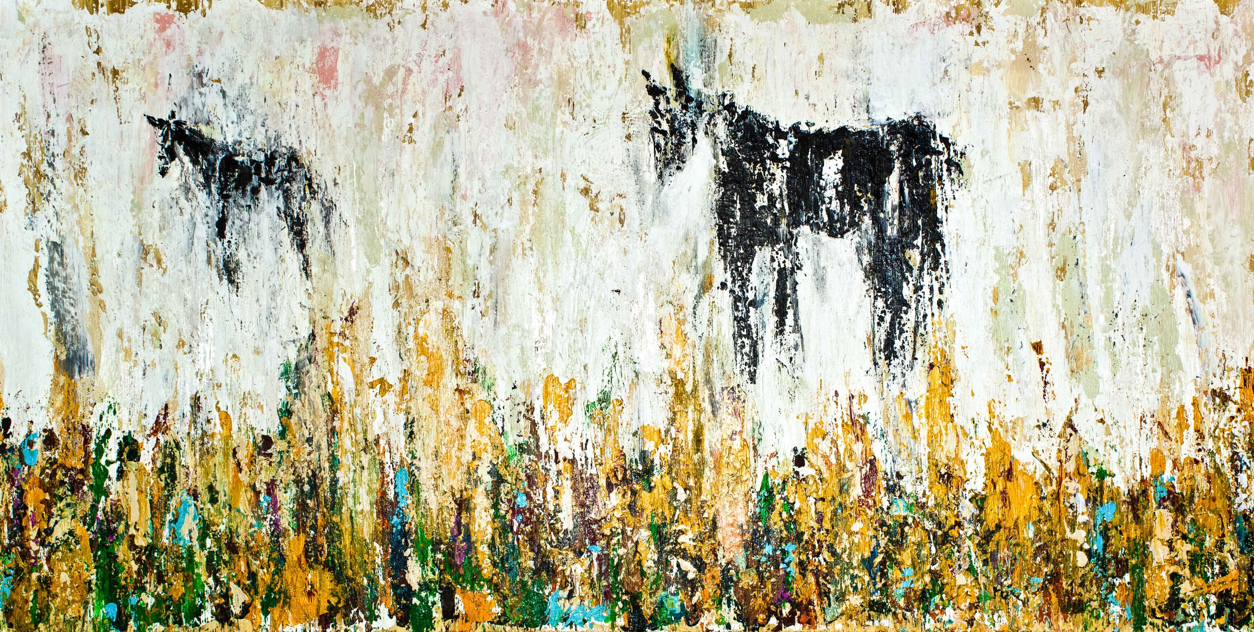 """Where Are You Going? - 18"""" x 36"""" - $450"""