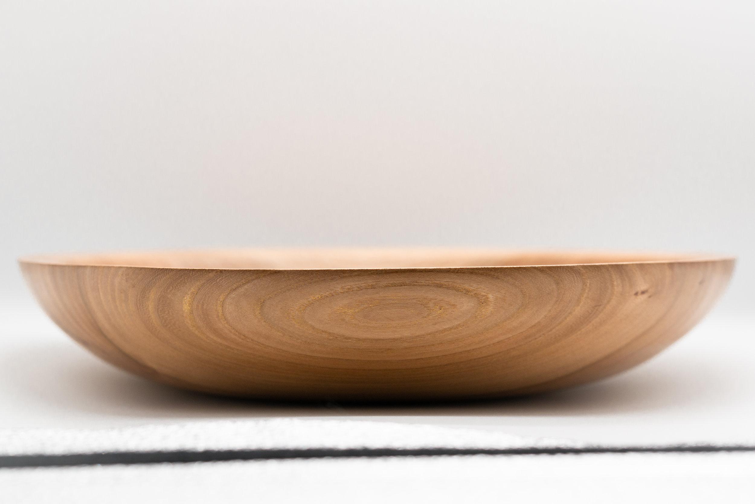 Large English Elm Bowl