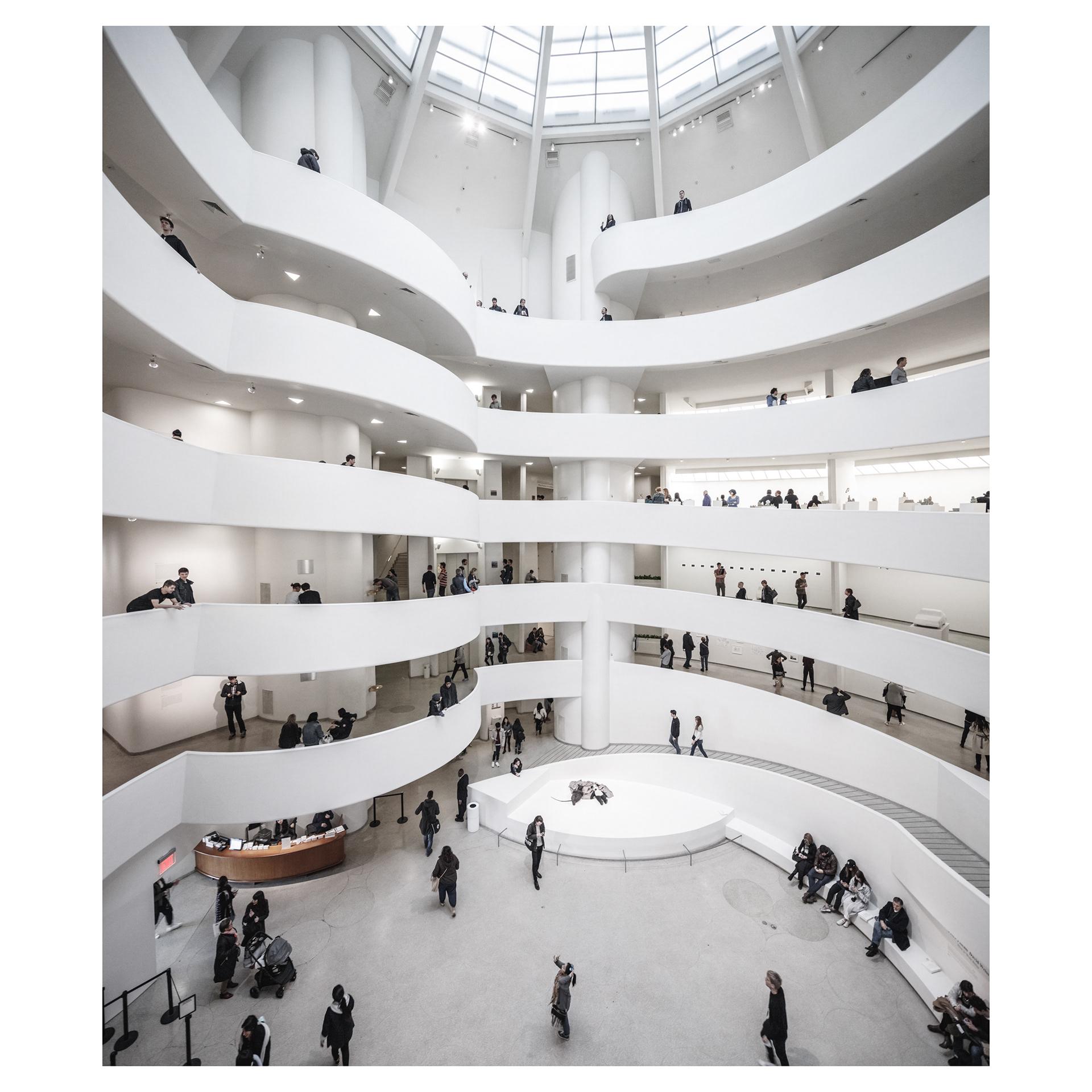 Guggenheim, via    Coast Collective Architecture Studio