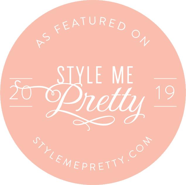 Style Me Pretty : Rebecca & Charles