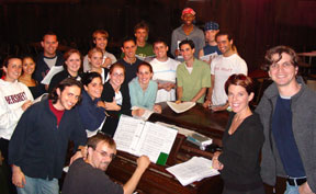 Forestburgh Playhouse Musical Staff