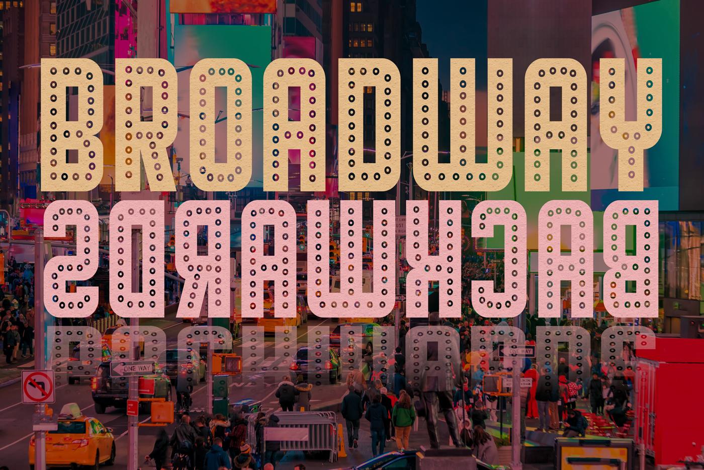 broadway backwards