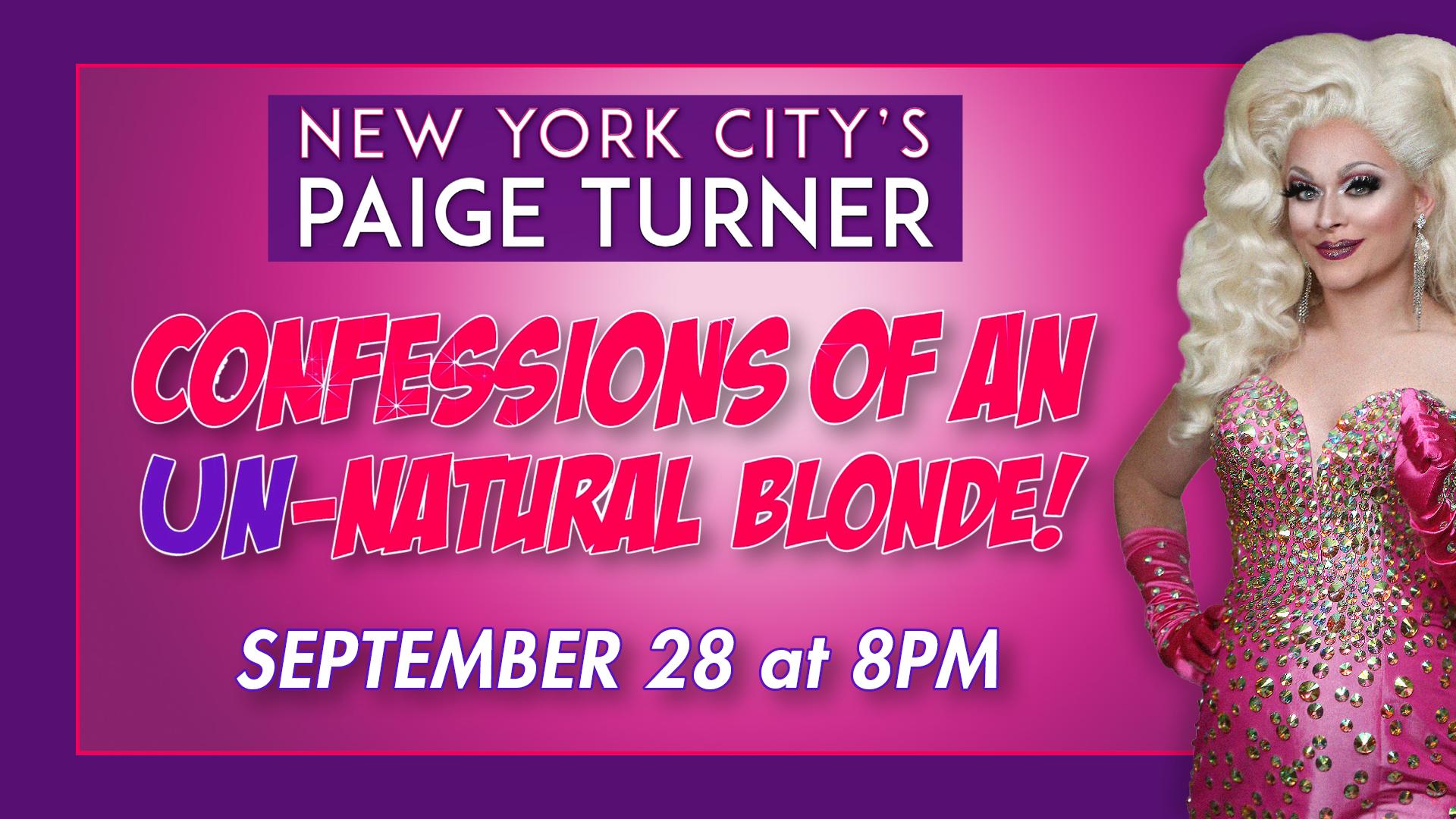 Paige Turner: Confessions