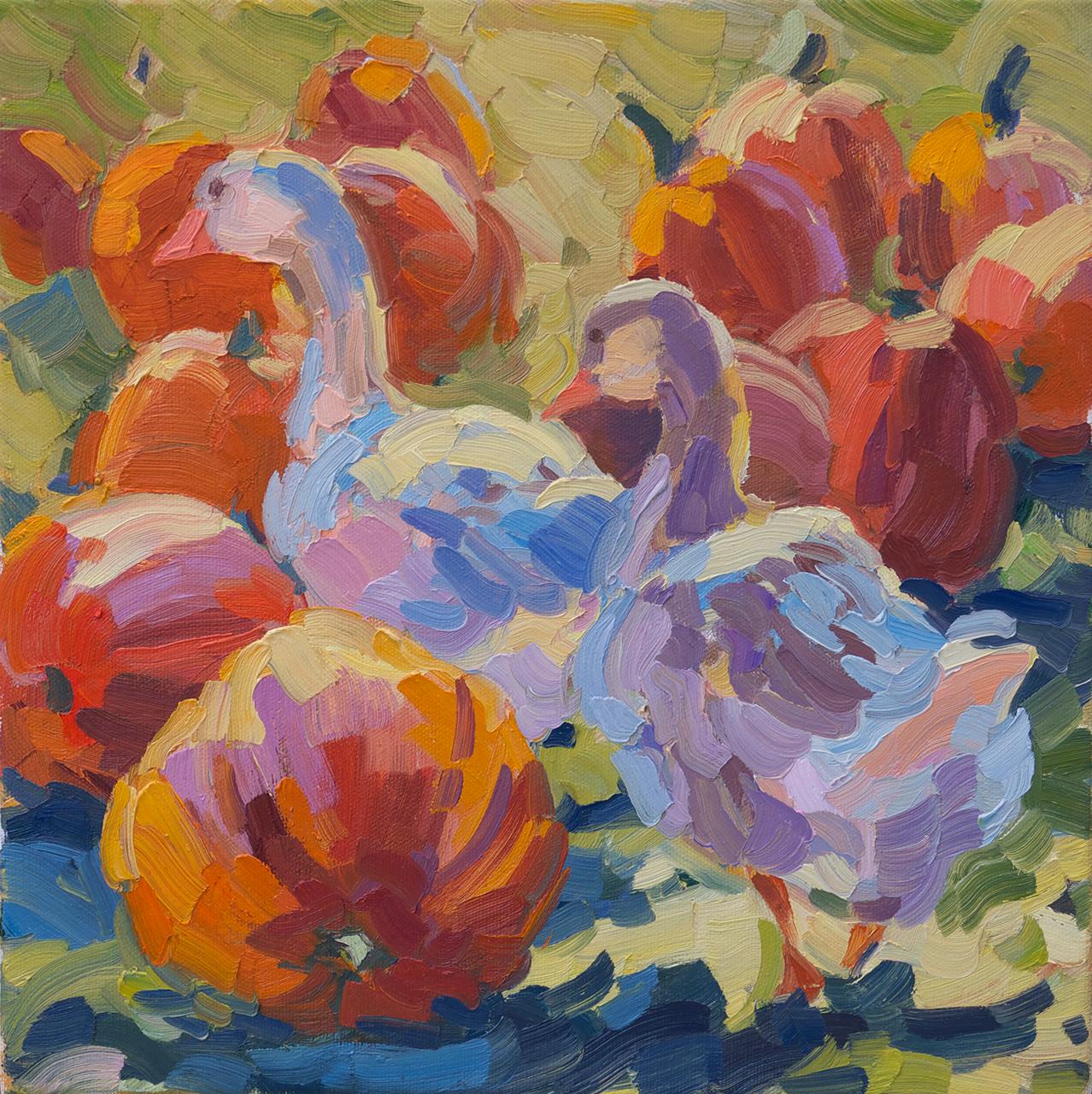 Geese & Pumpkins