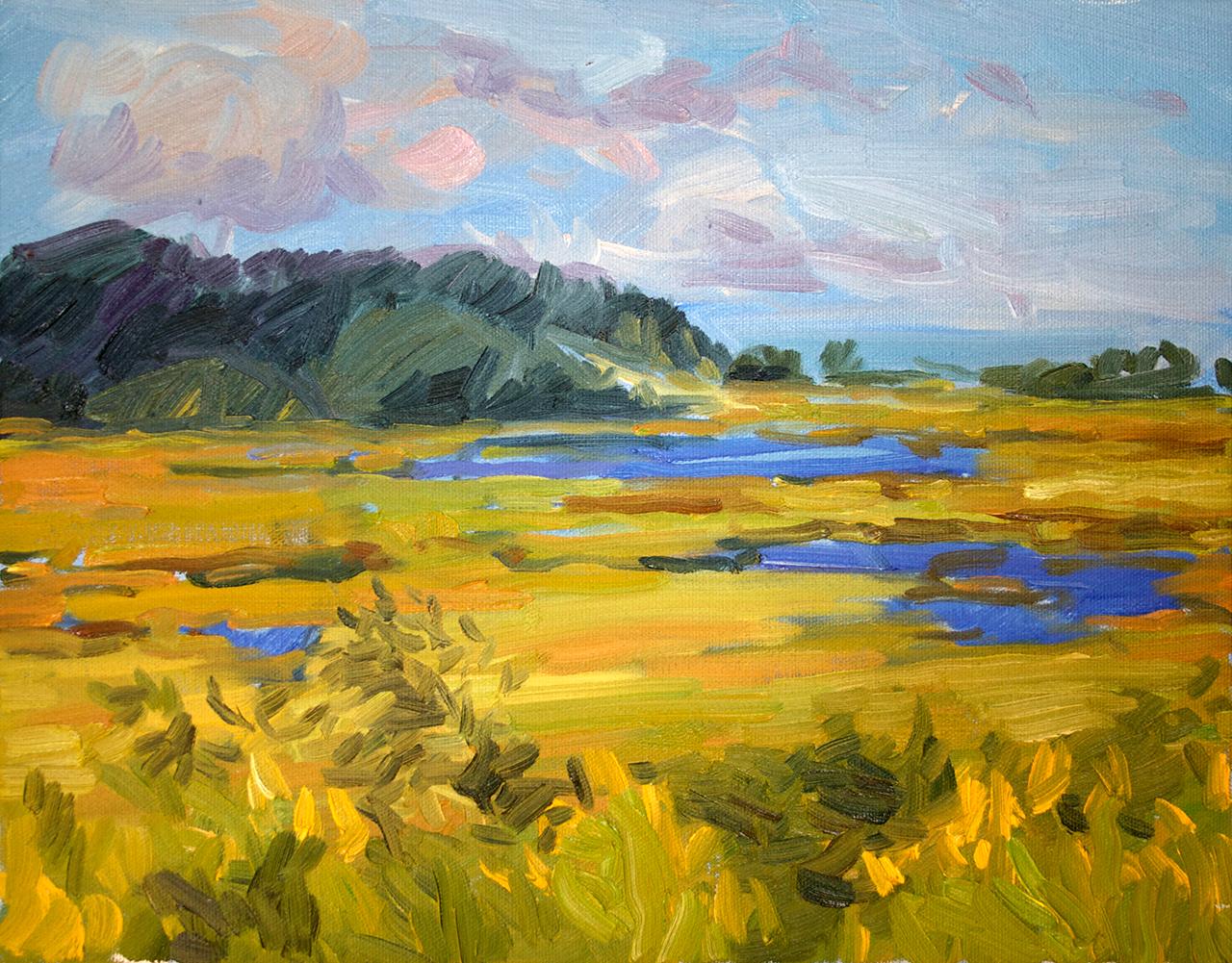 Marsh, End of Summer