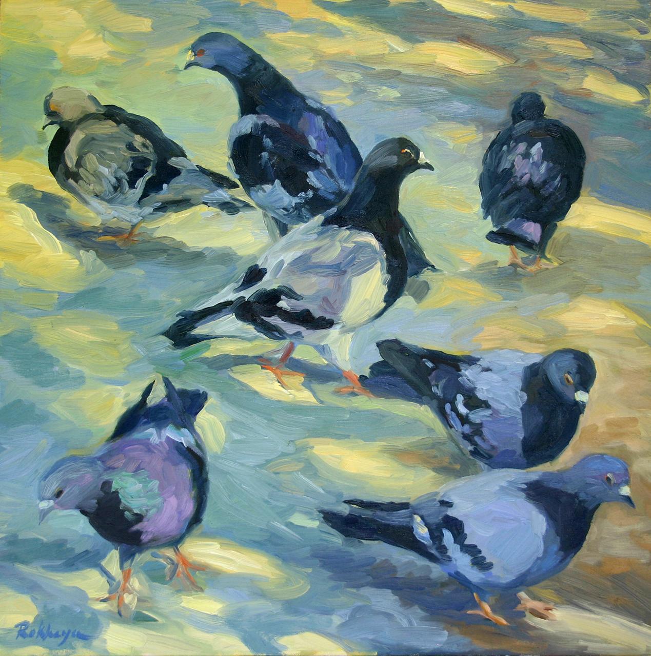 Paris Pigeons (#2)