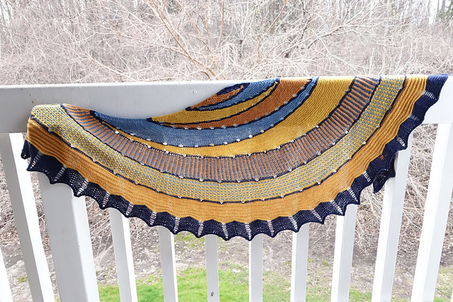 Exploration Station Shawl