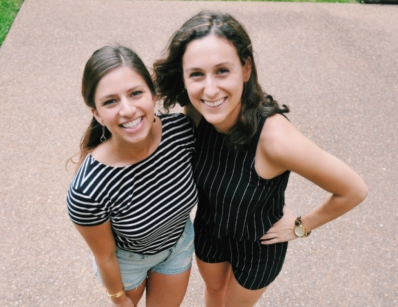 The bubbly Lindsay and Carley of  The Tiny Two Talk ! From fashion, to travel, and our favorite: food-- this pair knows just how to put a personal spin on it all. Their genuine joy exudes from every blog and  instagram  post, you can't help but get excited with them! (Even if your DIY's don't quite turn out like theirs...)