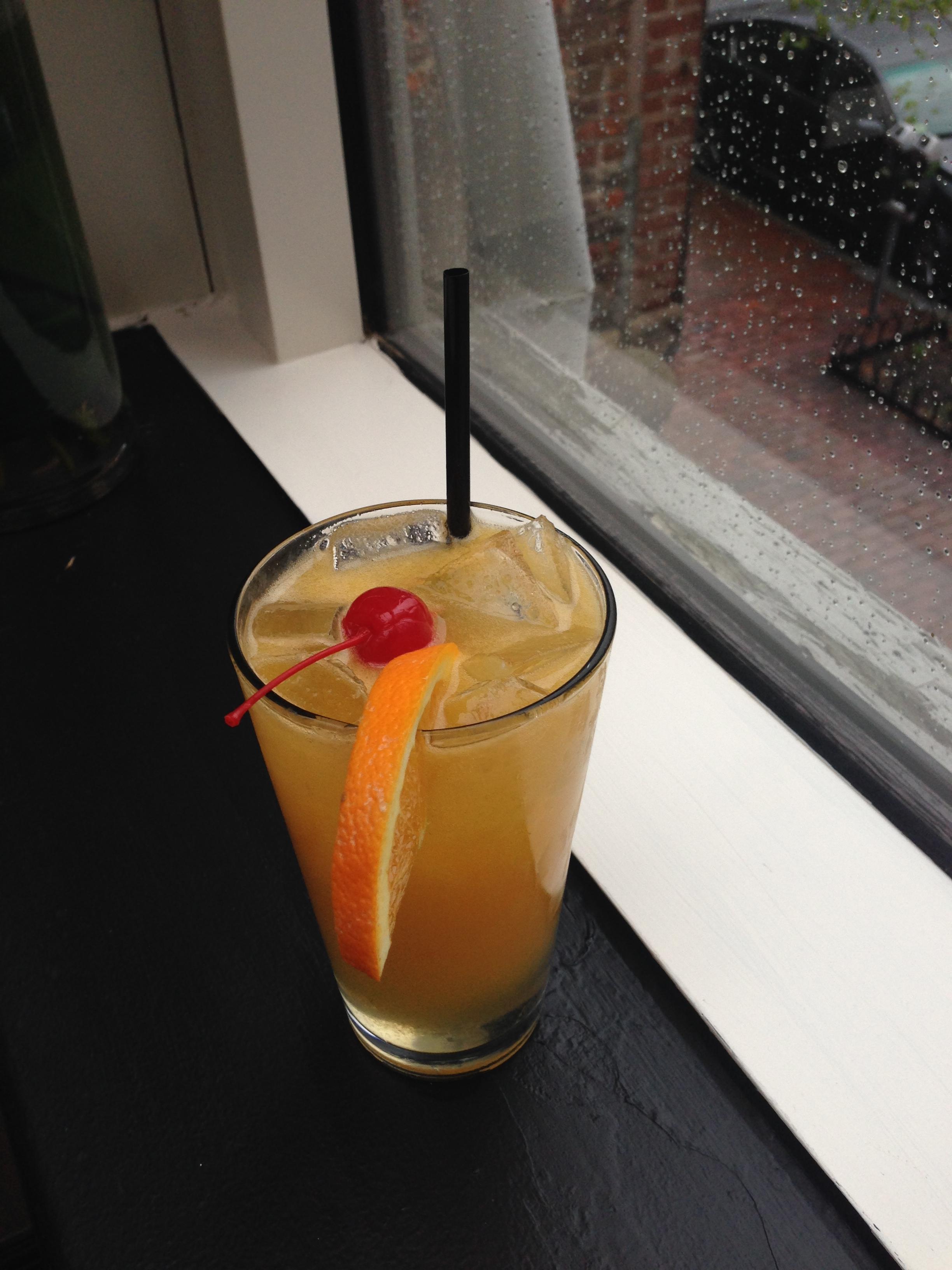 Mango-Orange Cocktail