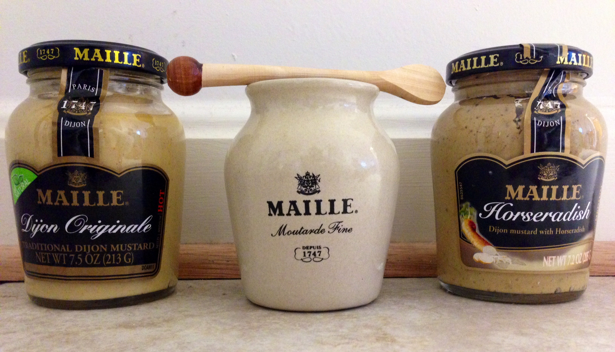 mustard trio