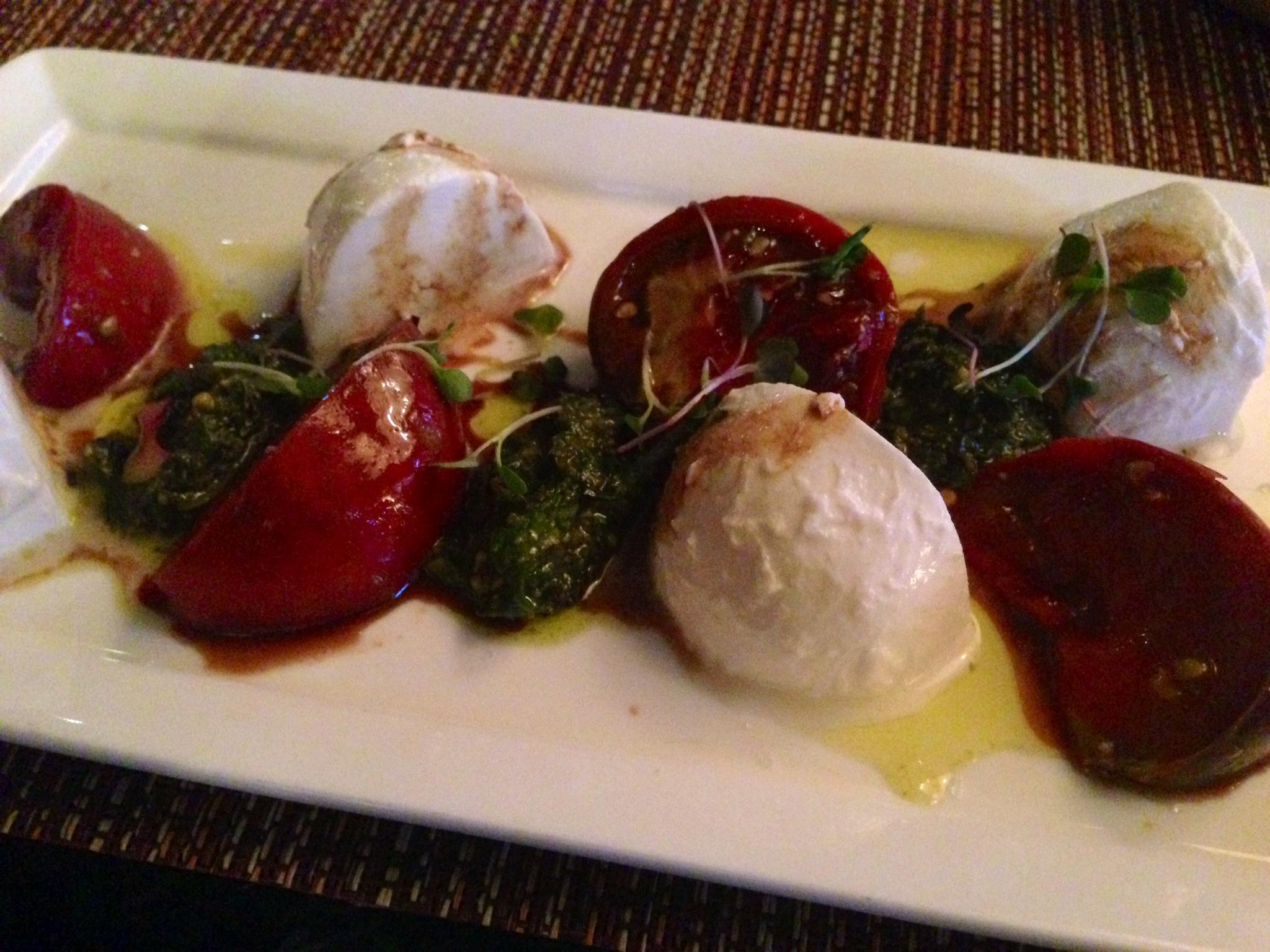 Heirloom Tomatoes & Mozzarella