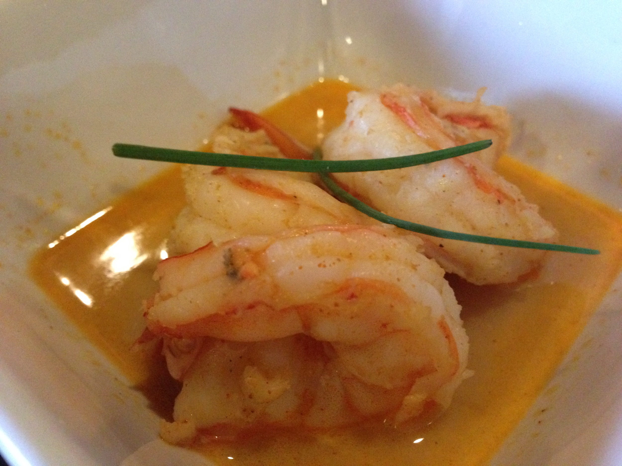 Garlic Beurre Blanc Shrimp