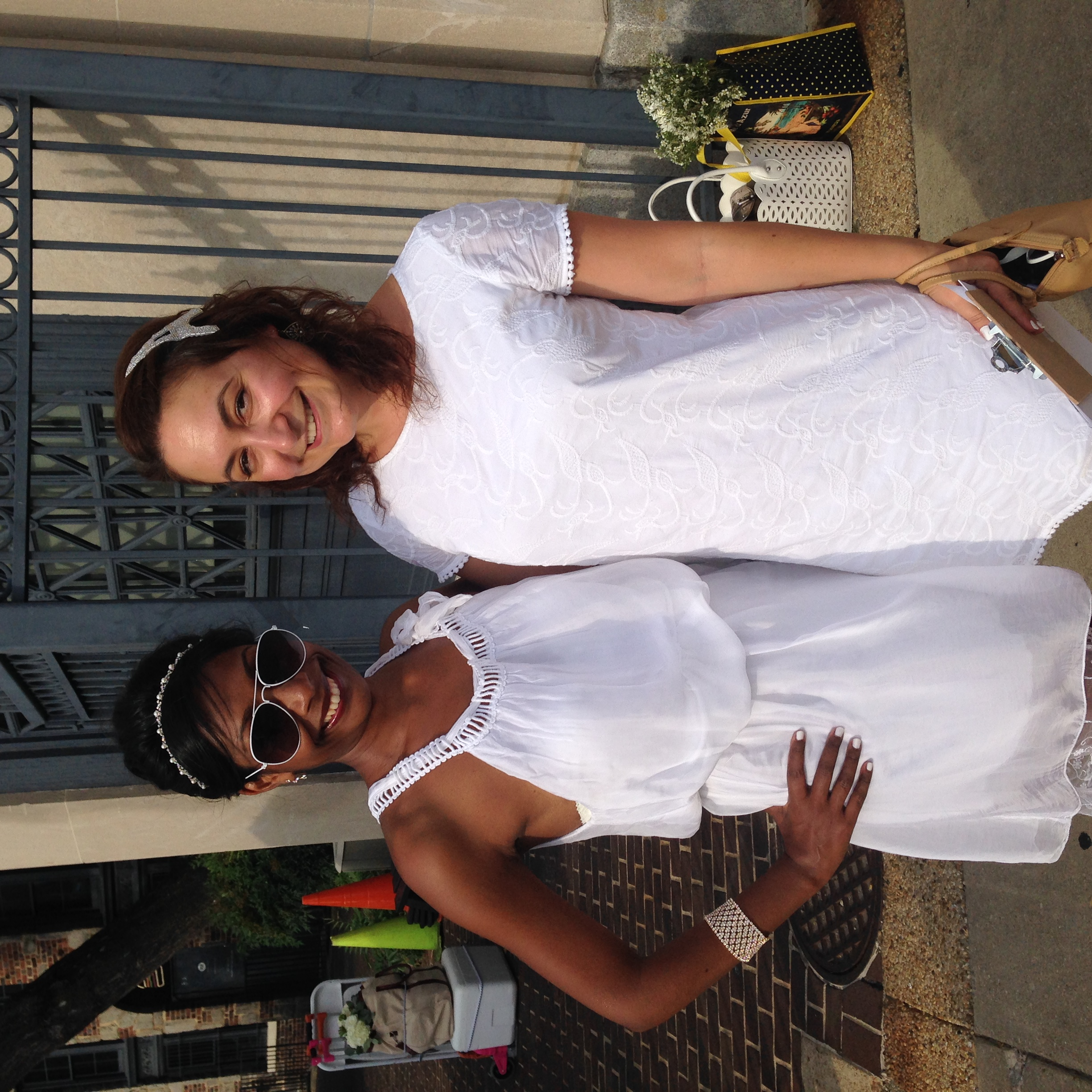My best friend Laetitia (also one of this year's great DeB group organizers) and I.