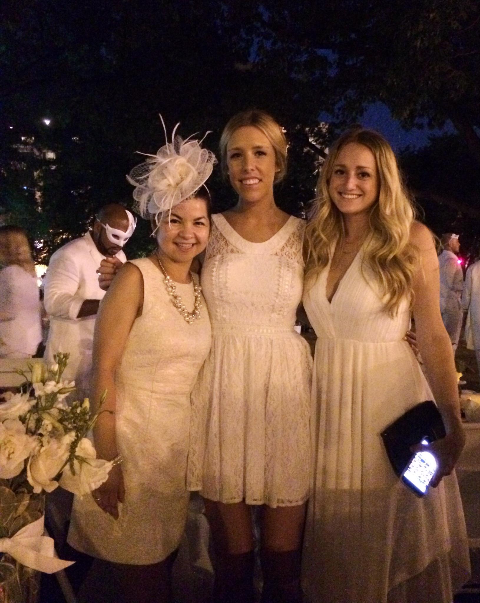 My friend Joelle, Jillian and Canon. (Photo credit: Joelle)