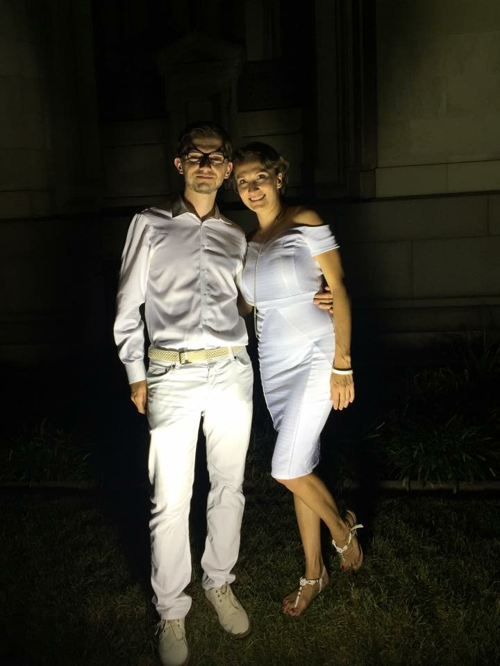 Another great couple - Philippe and Katya. (Photo credit: Katya)