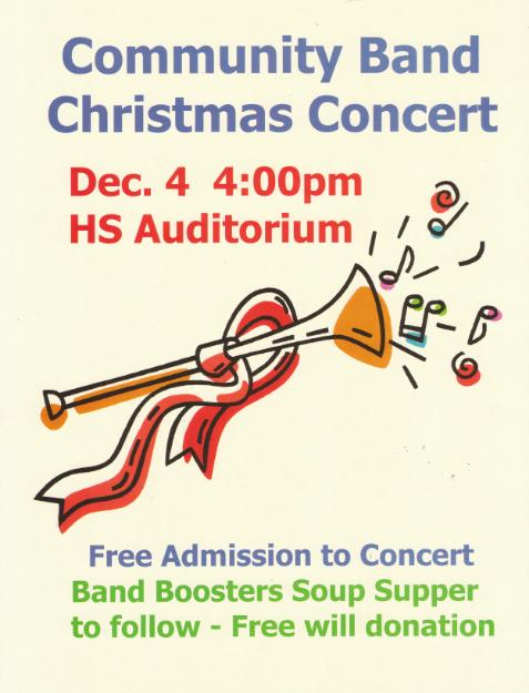 2011 Christmas Concert Ad