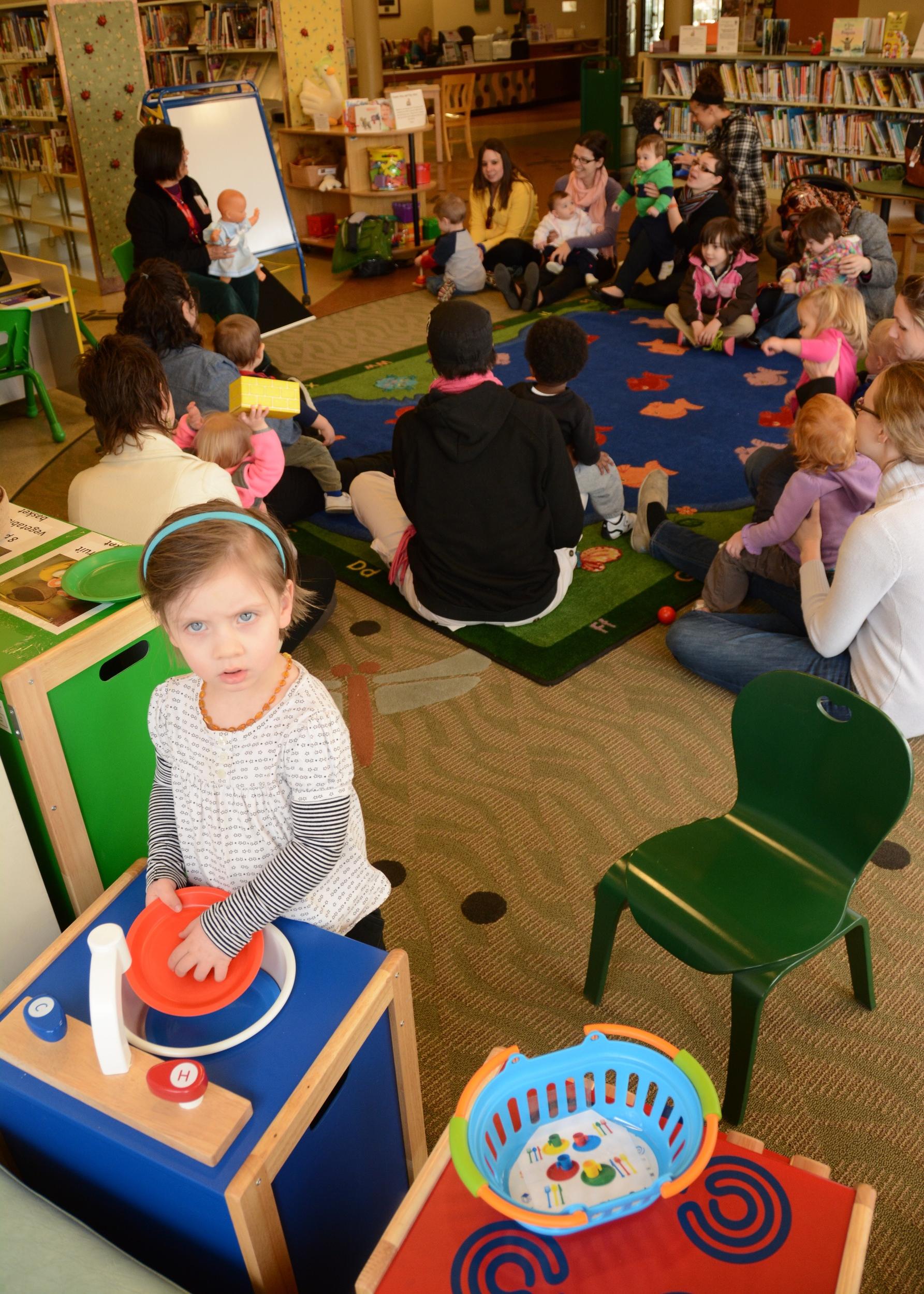 Herman & Kate Kaiser Library's Family Place Program