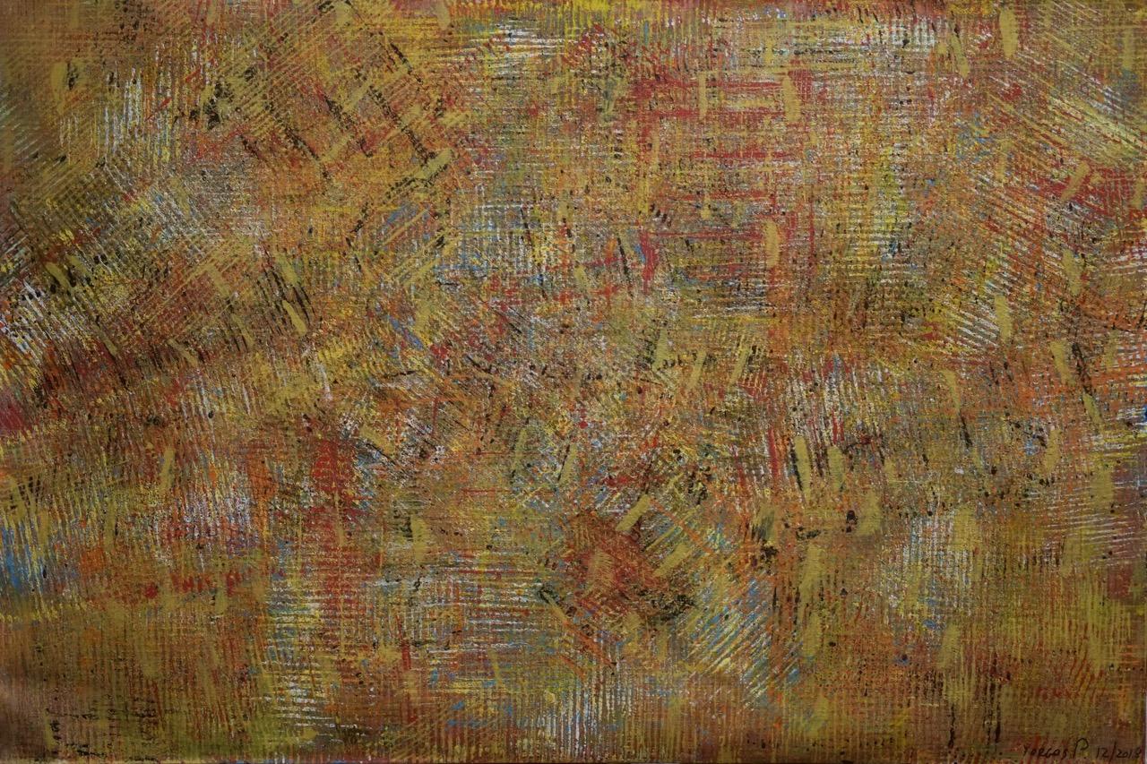 untitled; acrylics on linen; 80x120; 2019