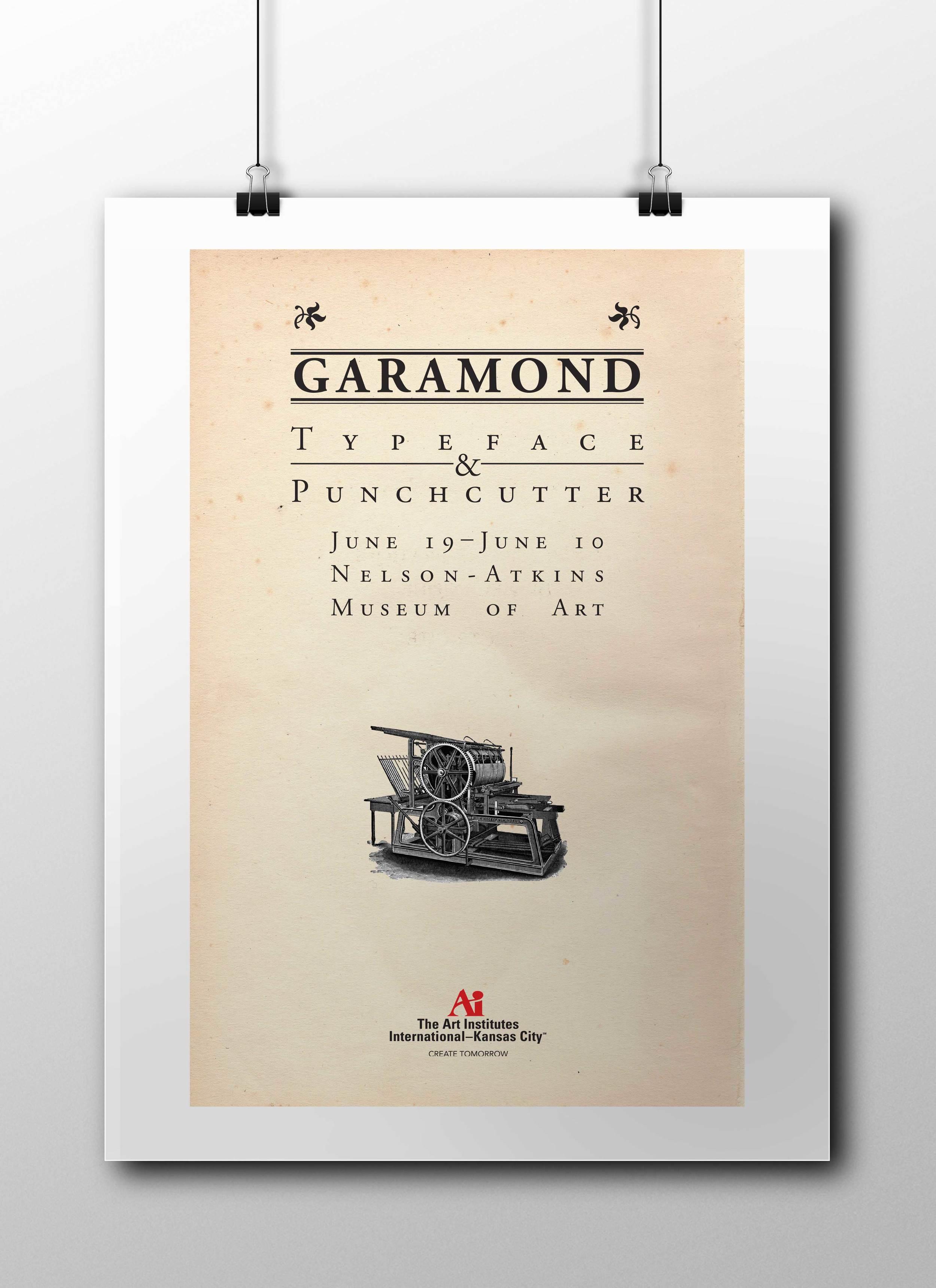 Garamond Show