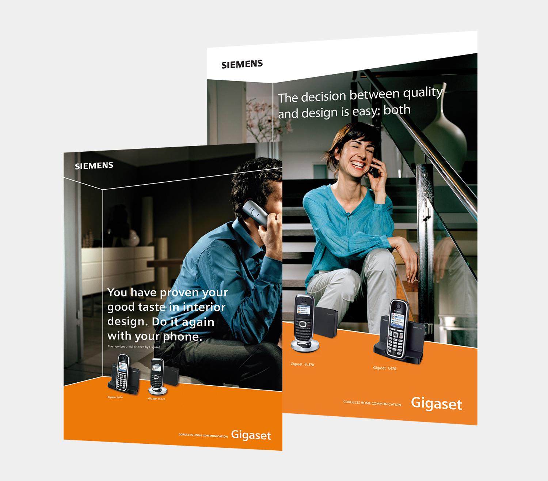 Gray Design Siemens posters