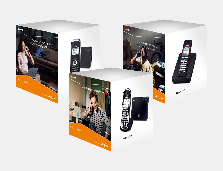 Gray Design Siemens packaging