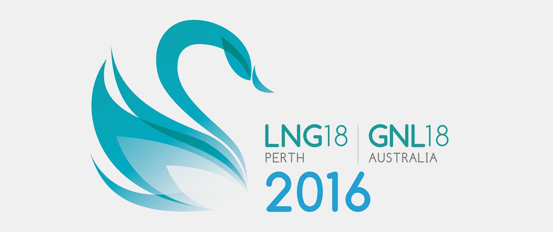 Gray Design conference design LNG Logo