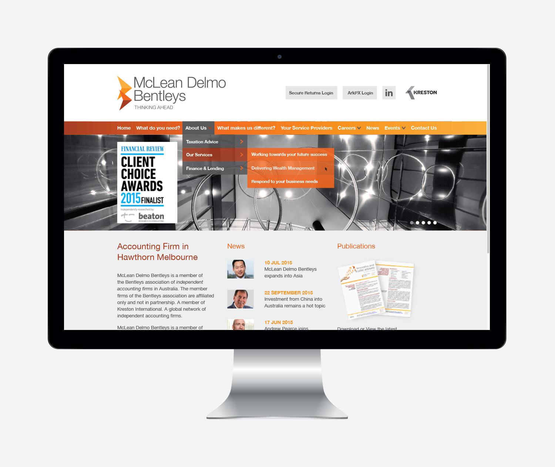 gray design mclean delmo bentleys website