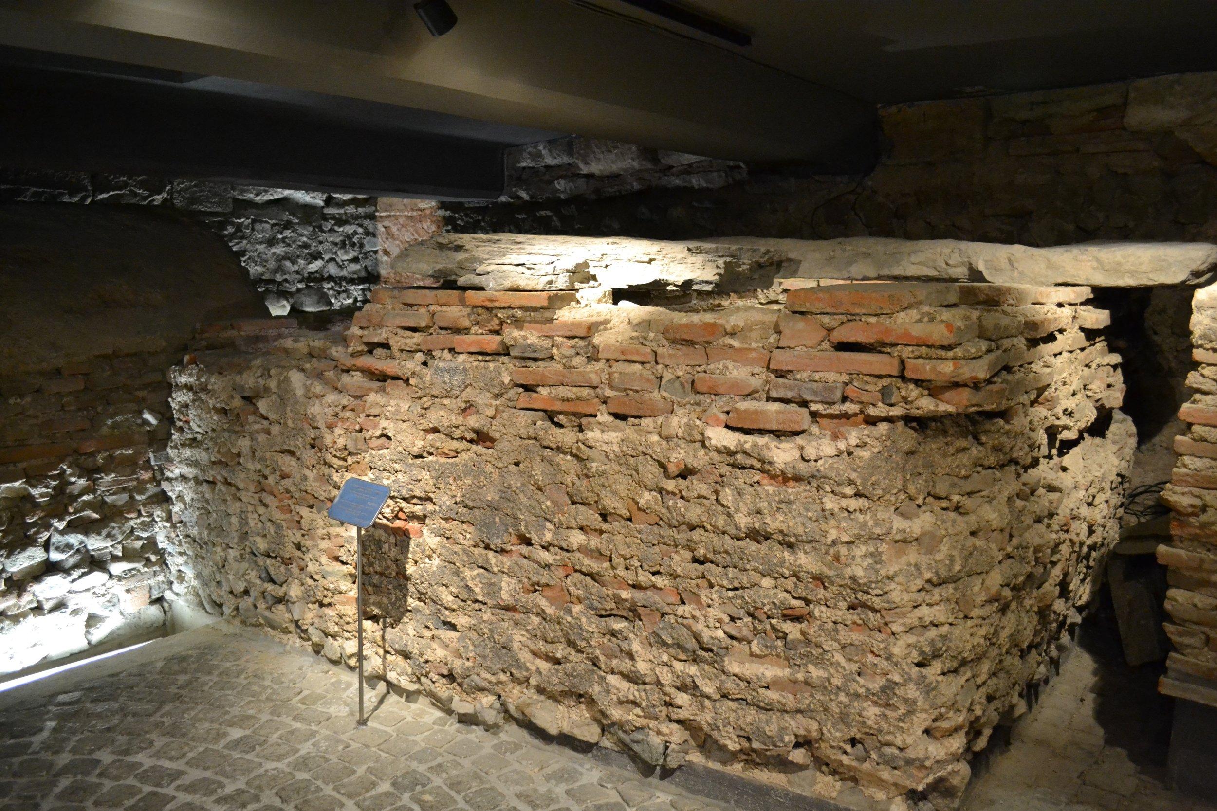 Catacombs under St. Sofia