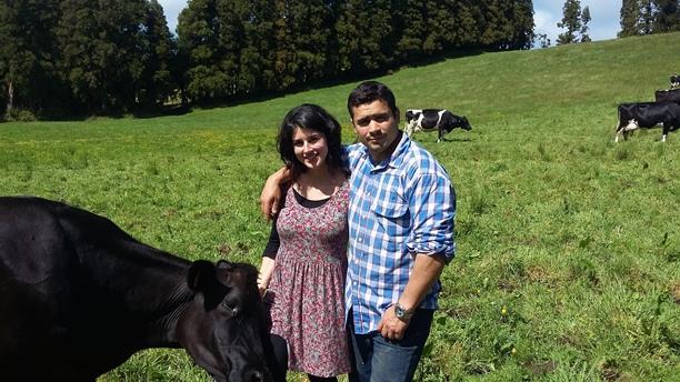 Gena and João Pinheiro : owners of The Farm