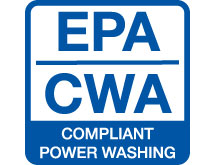 Our power washing services are EPA and CWA compliant.