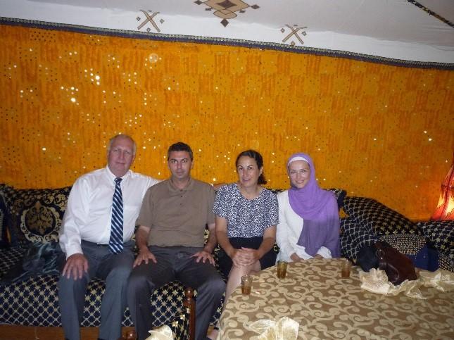 Reception:Tom Keefe (IMEC CEO), Mehdi Tahiri, Dr. Susan Crawford, andJessica Masse.