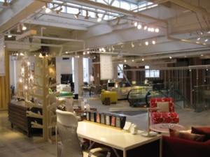 The EQ3 Flagship showroom in Toronto