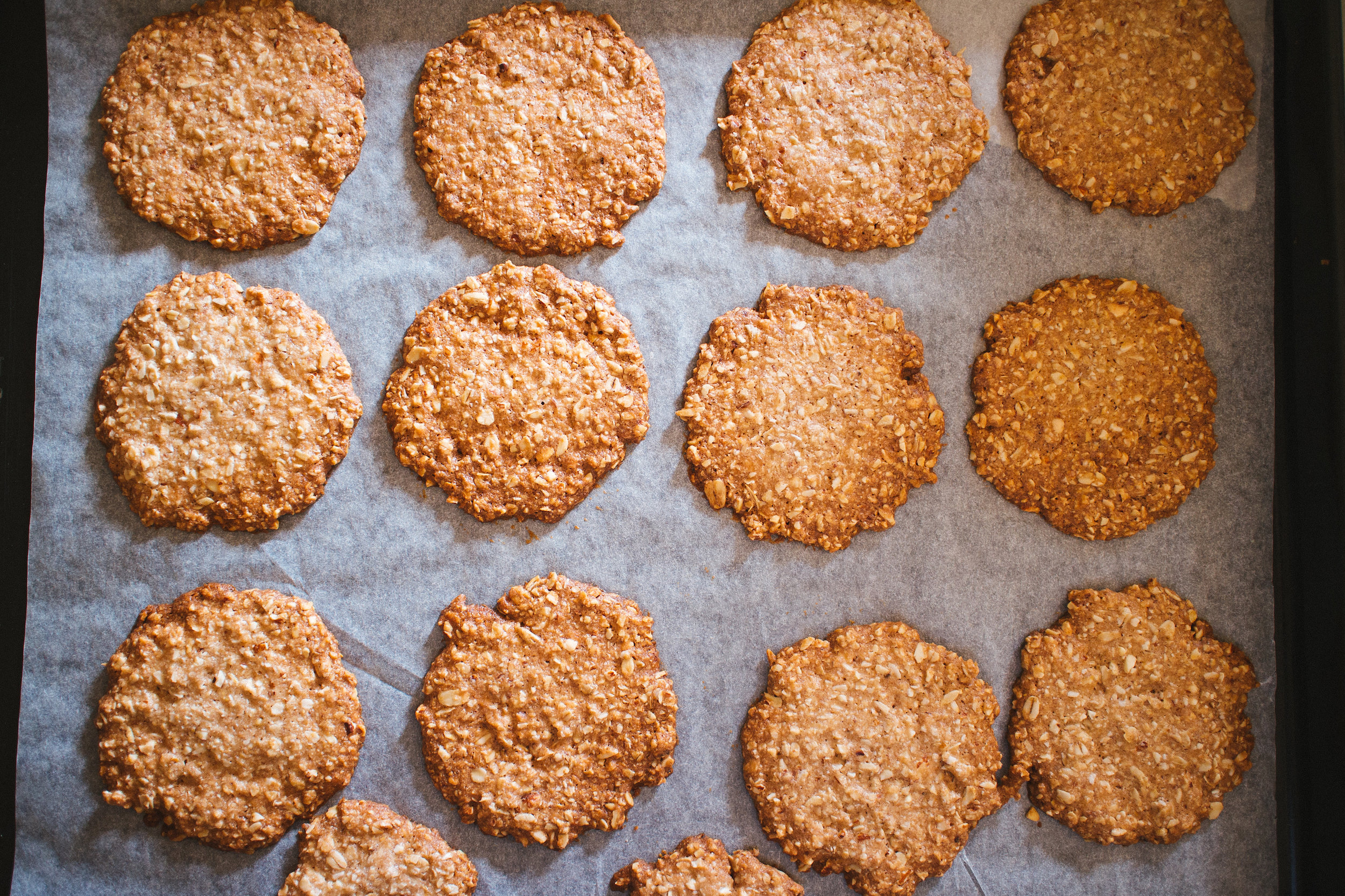 vegan oat cookies