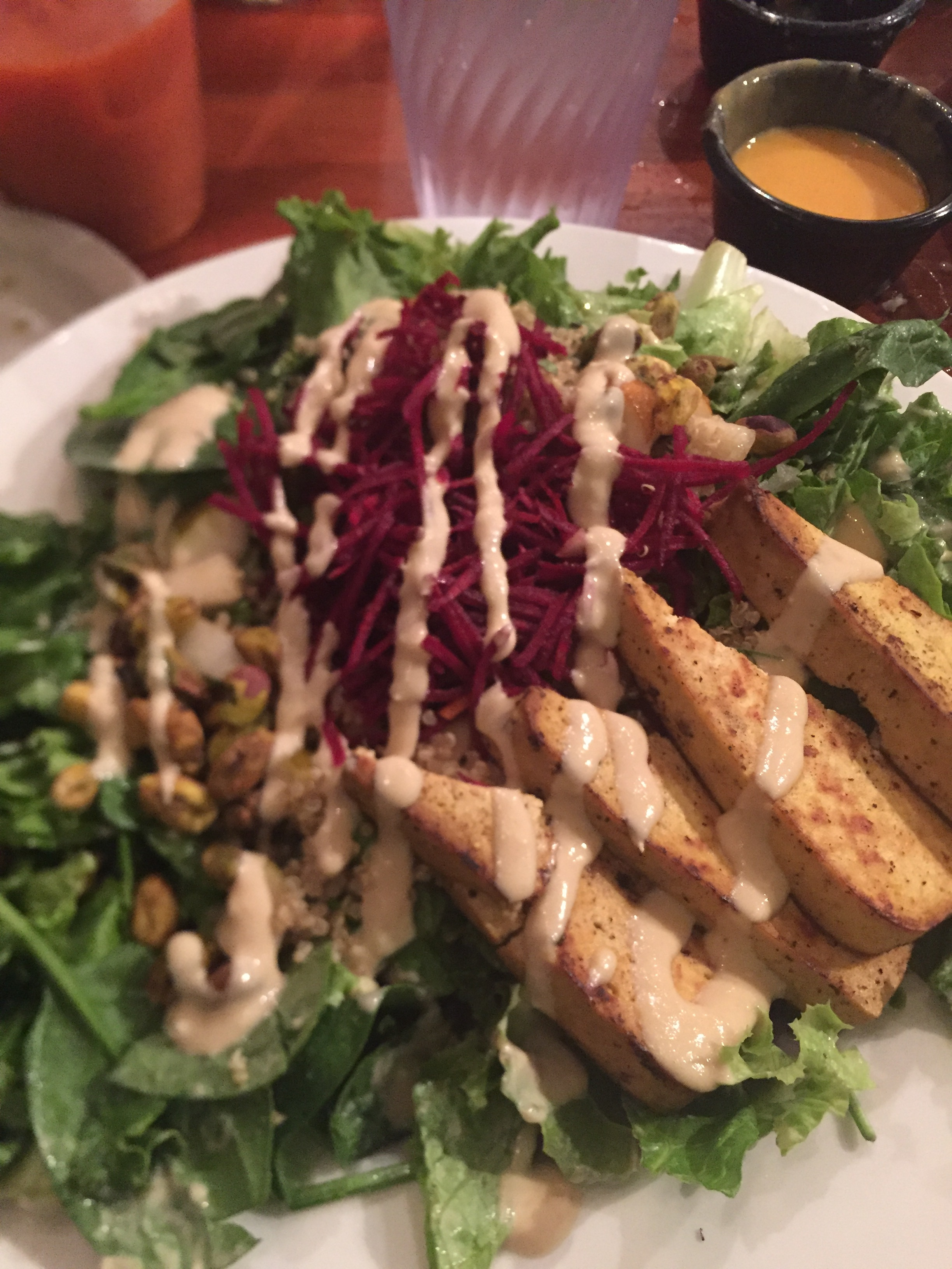 Pistachio & Pear Salad
